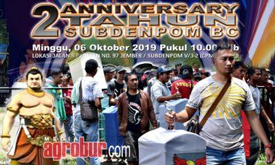Jelang 2th Anniversary Sundenpom BC Jember