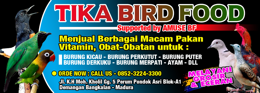 Tika Bird Food Madura