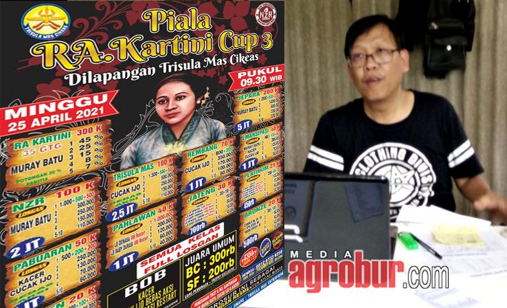 Jelang Kartini Cup Cikeas Bogor