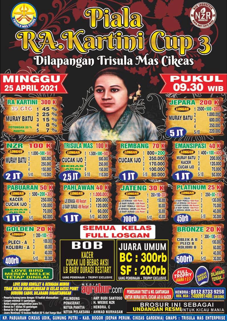 Jelang Kartini Cup Cikeas